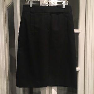 Lanvin Black Pencil Skirt size 36